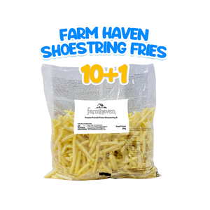 Farm Haven Shoestring Fries 2kg Bundle (10+1)