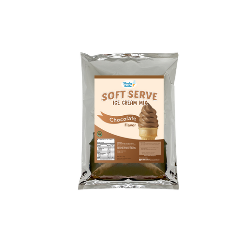 Frosty Delite Chocolate Soft Serve Mix 1kg - O-SUPERSTORE
