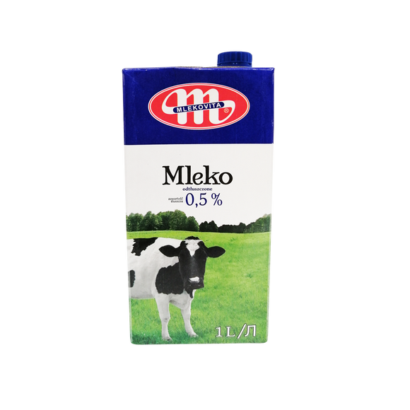 Mlekovita UHT Milk 0.5% (Non Fat)