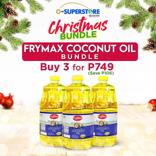 Frymax Coconut Oil 3L Bundle - O-SUPERSTORE