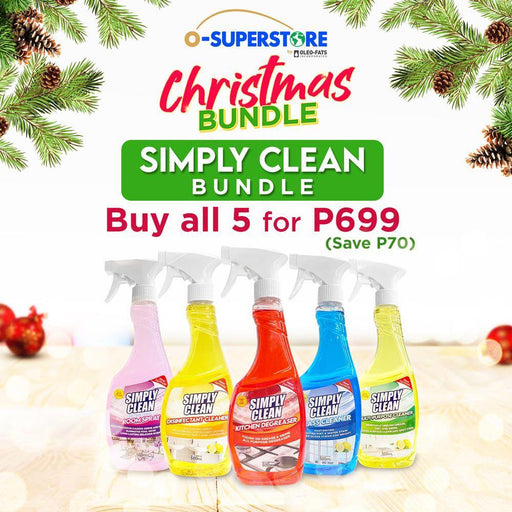 Simply Clean Bundle - O-SUPERSTORE