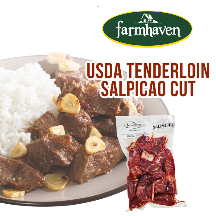 Tenderloin Salpicao Cut (USDA - Farm Haven)
