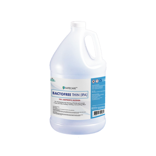 Safecare Bactofree 70% Isopropyl Alcohol (3.78L) - O-SUPERSTORE
