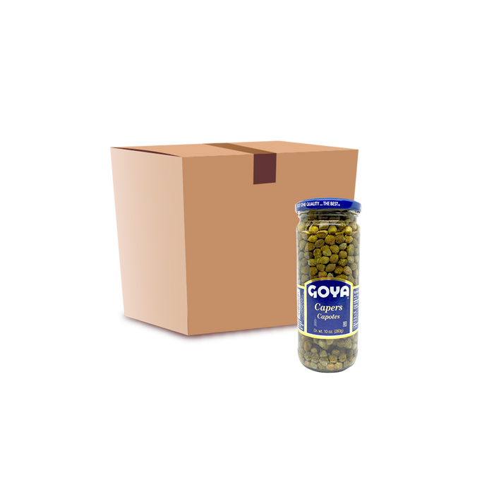 Goya Capers Capotes (283g) - Case - O-SUPERSTORE