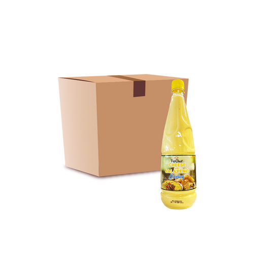 TopChef Cheese and Jalapeno Dressing (6 x 1L) - Case - O-SUPERSTORE