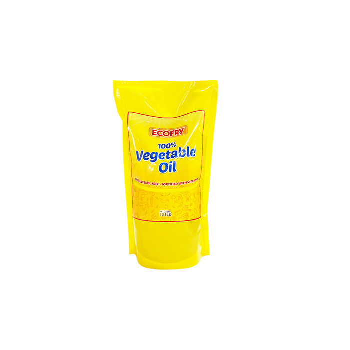 Ecofry Vegetable Oil (1L)