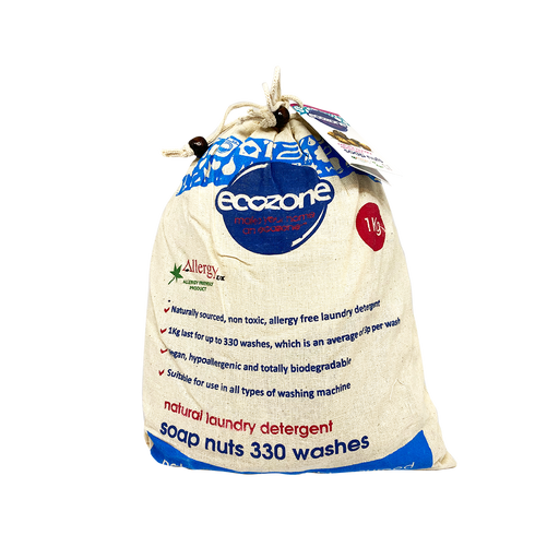 Ecozone Soap Nuts (1kg) - O-SUPERSTORE