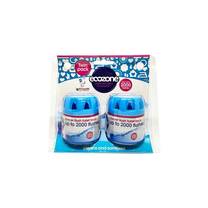 Ecozone Forever Flush Twin Pack - O-SUPERSTORE