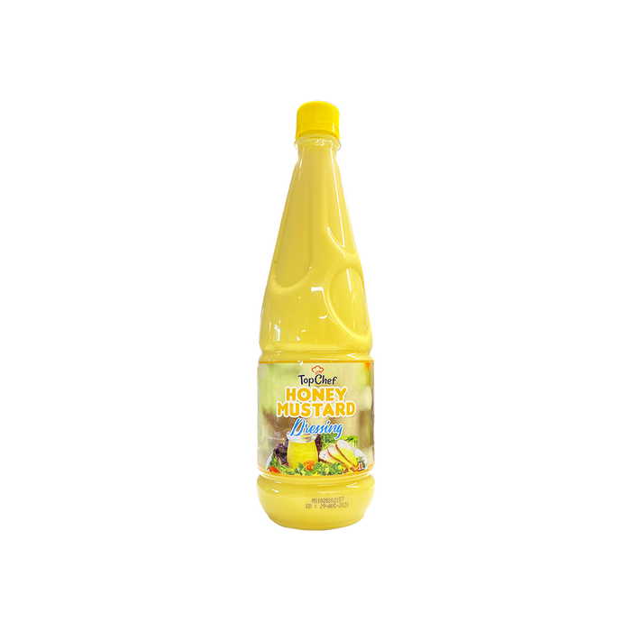 TopChef Honey Mustard Dressing (1L) - O-SUPERSTORE