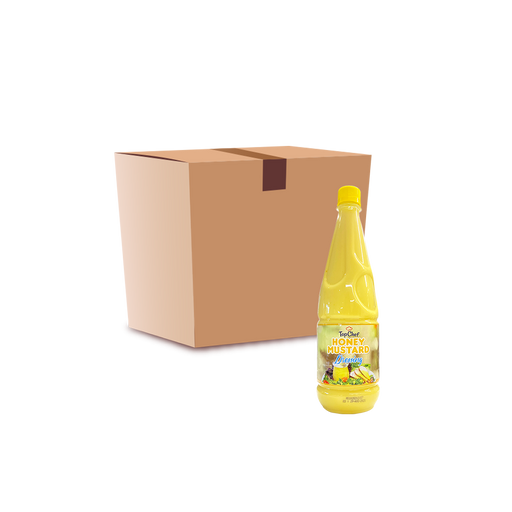 TopChef Honey Mustard Dressing (1L) - Case - O-SUPERSTORE
