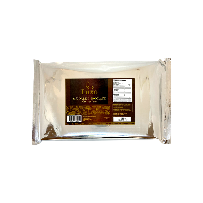 Luxo Couverture Dark Chocolate 58% (1Kg)