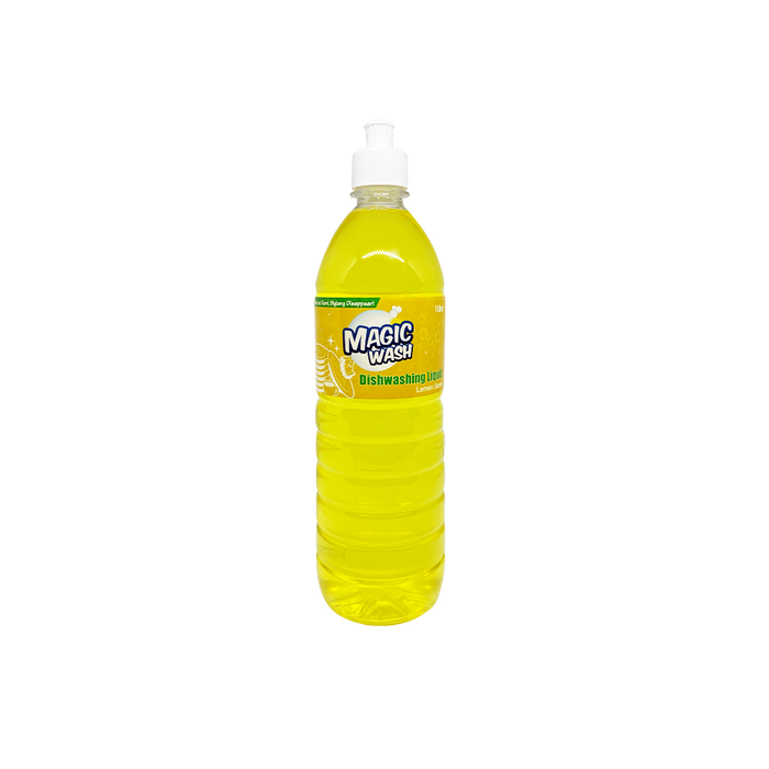 Magic Wash Dishwashing Liquid - Lemon (1L)