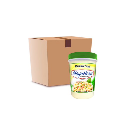 Mayo Hero All Purpose Dressing (3.5L) - Case - O-SUPERSTORE