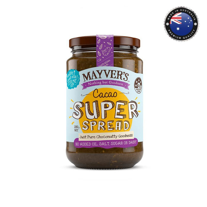 Mayver's Super Cacao Spread (280g)