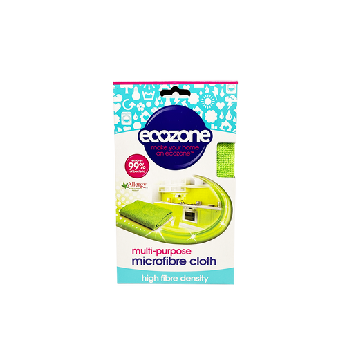 Ecozone Multisurface Microfibre Cloth - O-SUPERSTORE
