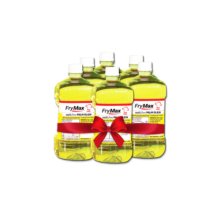 Frymax Palm Olein Oil (1L) Bundle - O-SUPERSTORE