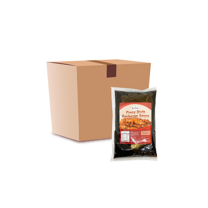 TopChef Pinoy Style Barbecue Sauce (1Kg) - Case