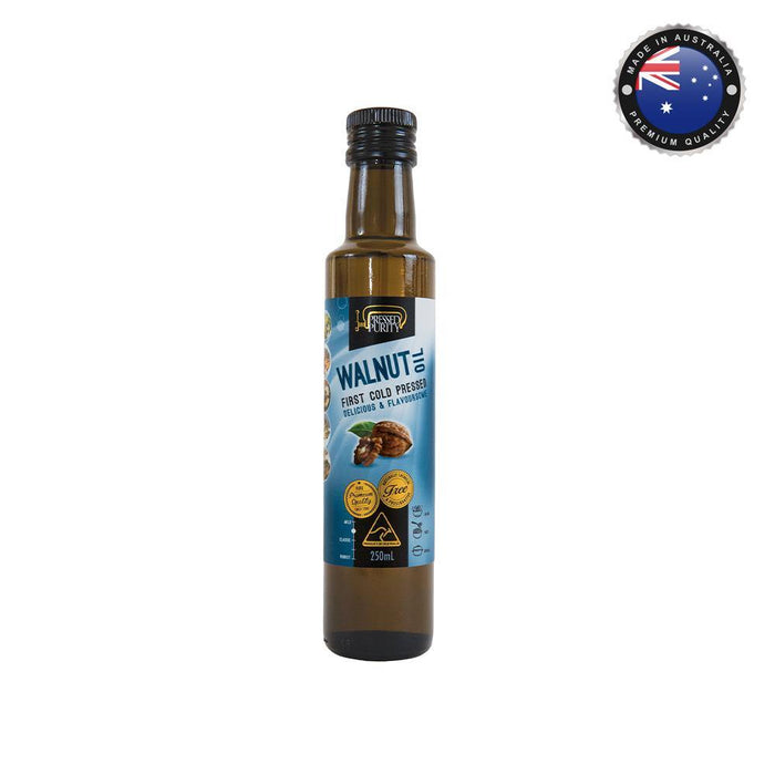 Pressed Purity Walnut Oil (250mL) - O-SUPERSTORE