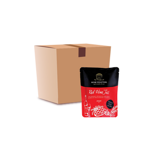 Bone Roaster's Red Wine Jus (25 brix) - Case
