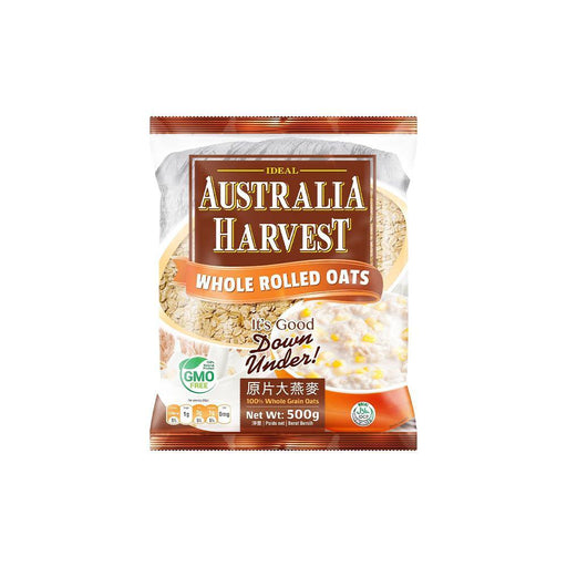 Australia Harvest Rolled Oats (500g) - O-SUPERSTORE