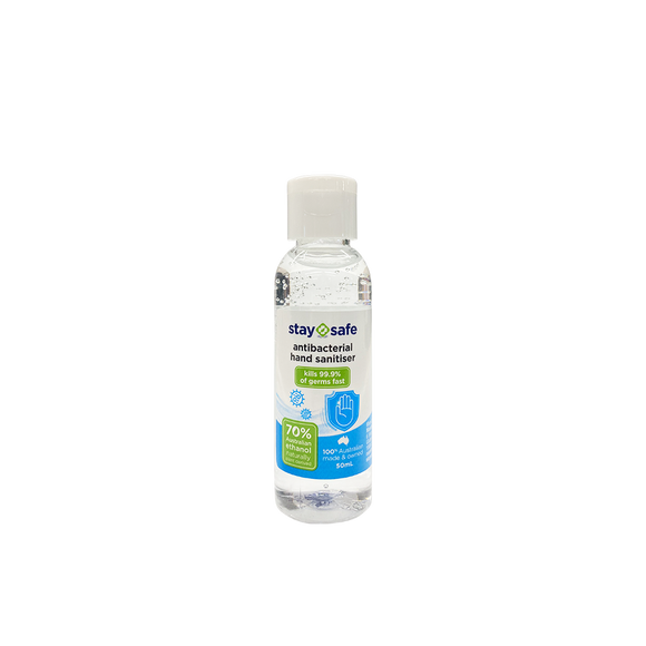 Stay Safe Hand Sanitizer Gel (50mL)