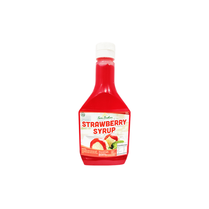 Farm Brothers Strawberry Syrup (460g)