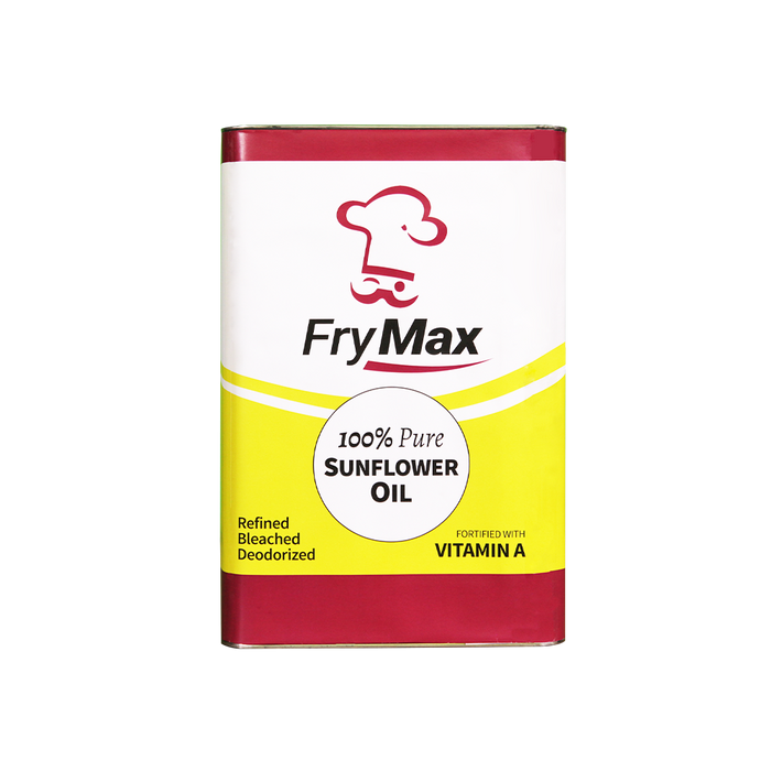 Frymax Sunflower Oil (18L) - O-SUPERSTORE