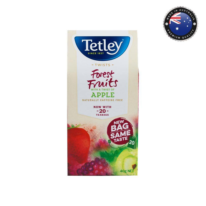 Tetley Tea - Forest Fruits with a Touch of Apple