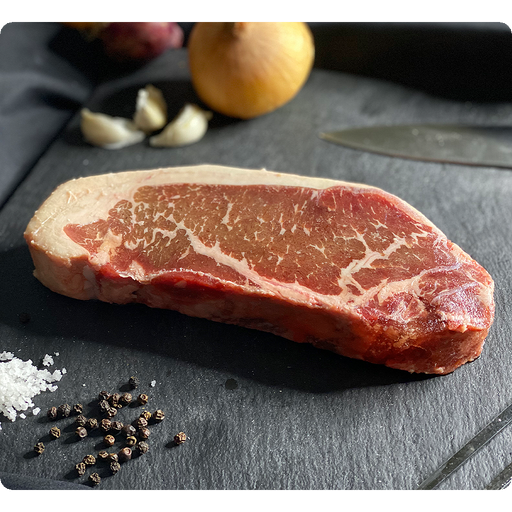 Angus Beef Striploin Steak (USDA Choice - Farm Haven) - O-SUPERSTORE