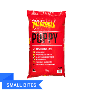 Vitality ValueMeal Puppy - Small Bites (20Kg)