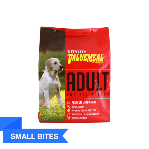 Vitality ValueMeal Adult - Small Bites (1Kg) - O-SUPERSTORE