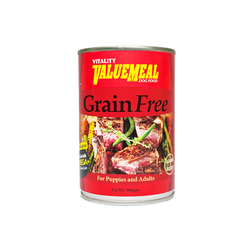 Vitality ValueMeal Grain-Free - Canned (390g) - O-SUPERSTORE