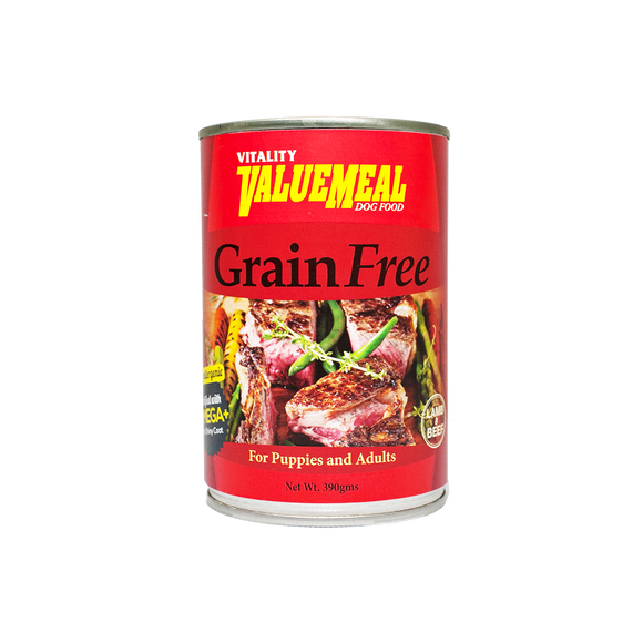 Vitality ValueMeal Grain-Free - Canned (390g)