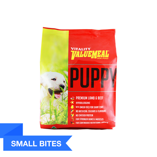 Vitality ValueMeal Puppy - Small Bites(1Kg) - O-SUPERSTORE