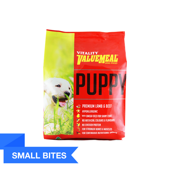 Vitality ValueMeal Puppy - Small Bites(1Kg)