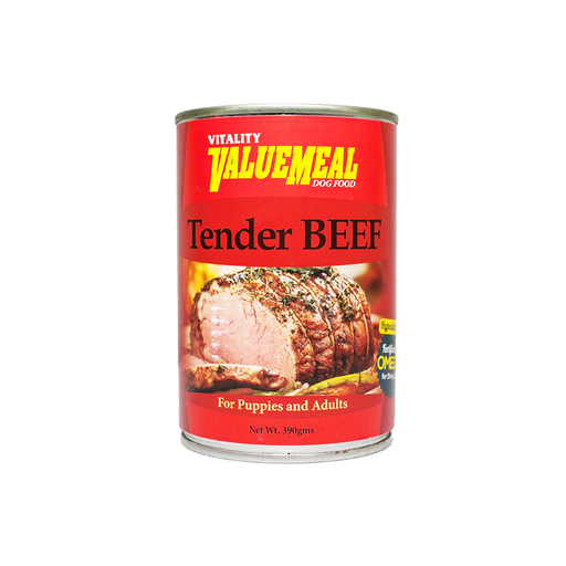 Vitality ValueMeal Tender Beef - Canned (390g) - O-SUPERSTORE