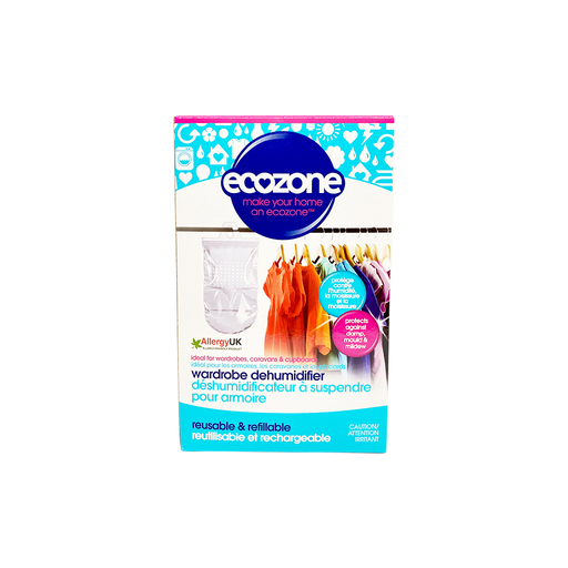 Ecozone Hanging Wardrobe Dehumidifier - O-SUPERSTORE
