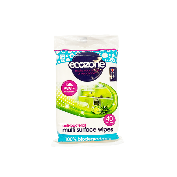 Ecozone Anti-bac Multisurface Wipes (40s)