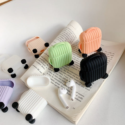 Silicon Luggage Airpod Case Cover