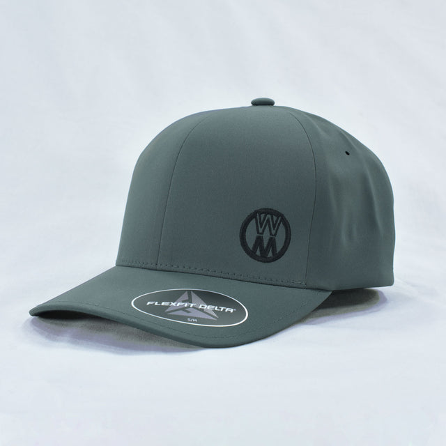 Gray Fitted Walker Stealth Hat