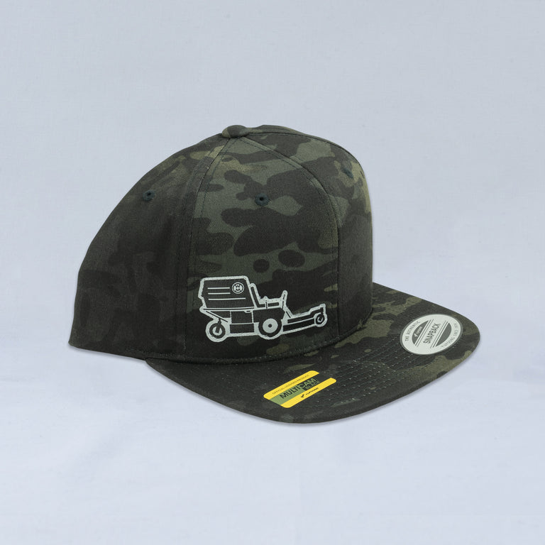 Black Camo Multicam Hat