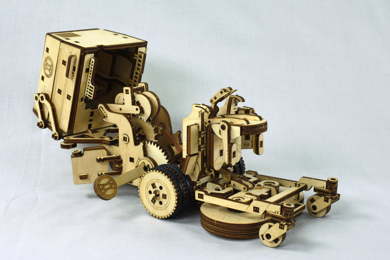 Wooden Mower Model