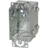 1104-K GANGABLE DEVICE BOX 2 1/2'' DEEP-ORTECH-CROWN DISTRIBUTION-Default-Covalin Electrical Supply