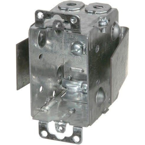 1104-LRW - 2½'' DEEP REWORK BOX W/BRACKET, EARS & CLAMPS-VISTA-VISTA-Default-Covalin Electrical Supply