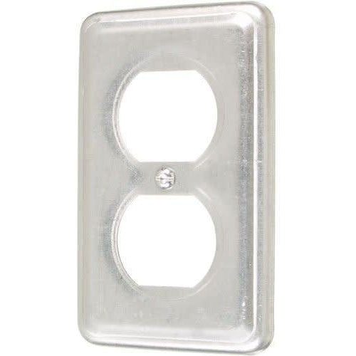 11C1 - 2 3/8'' WIDE-DUPLEX OUTLET-VISTA-VISTA-Default-Covalin Electrical Supply