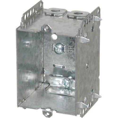 1504-LLE - 2½'' DEEP BOX W/NAILING LOOP & CLAMPS-VISTA-VISTA-Default-Covalin Electrical Supply
