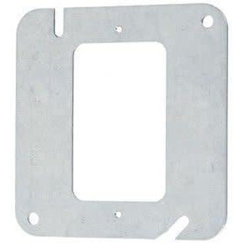 52C0 - 4'' SQUARE FLAT COVER-1 DEVICE-VISTA-VISTA-Default-Covalin Electrical Supply