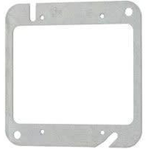 52C00 - 4'' SQUARE FLAT COVER-2 DEVICES-VISTA-VISTA-Default-Covalin Electrical Supply