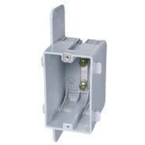1 GANG PLASTIC BOX WITH CLAMPS - 16 CU. IN.-VISTA-VISTA-Default-Covalin Electrical Supply