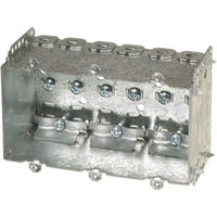 2104-LLE3 - 2 1/2'' DEEP BOX - 3 GANG WELDED W/NAILING LOOP & CLAMPS-VISTA-VISTA-Default-Covalin Electrical Supply